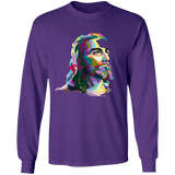 JESUS (multi color) G240 LS Ultra Cotton T-Shirt