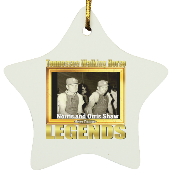 THE SHAW TWINS (Legends Series) SUBORNS Star Ornament