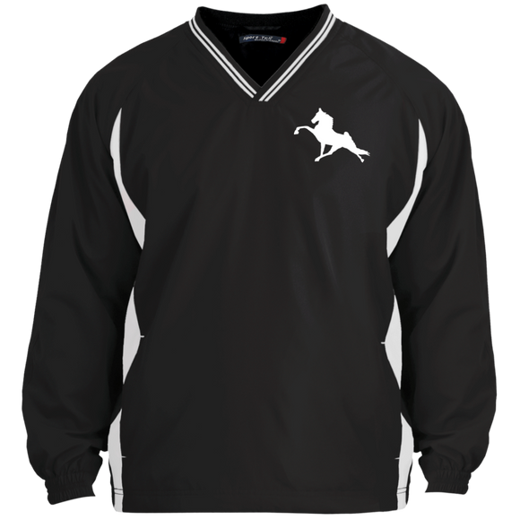 Tennessee Walking Horse (Performance) JST62 Sport-Tek Tipped V-Neck Windshirt