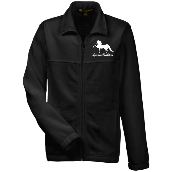 American Saddlebred Design 2 M990Y Harriton Youth Fleece Full Zip