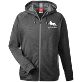 American Saddlebred Design 2 TT38 Team 365 Men's Heathered Performance Hooded Jacket
