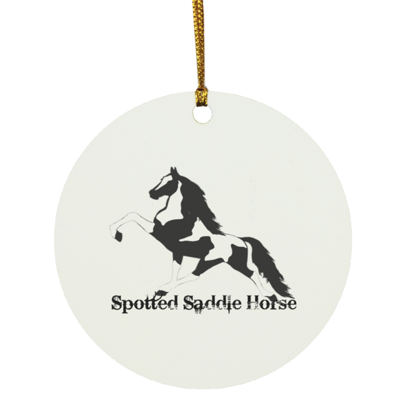 SPOTTED SADDLE WINE 2020 SUBORNC Circle Ornament