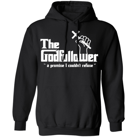 The Godfollower G185 Gildan Pullover Hoodie 8 oz.