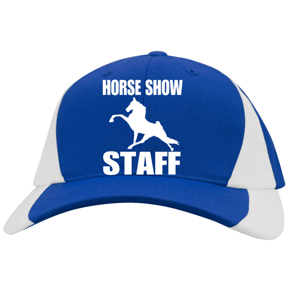 Horse Show Staff YSTC11 Youth Mid-Profile Colorblock Cap