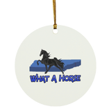 What A Horse 2020 SUBORNC Circle Ornament