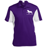 Tennessee Walking Horse (Pleasure) with letters ST655 Sport-Tek Men's Colorblock Performance Polo