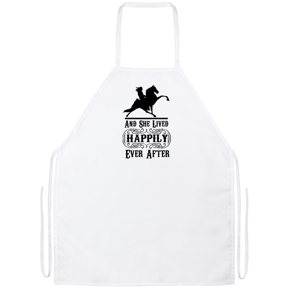 HAPPILY EVER AFTER (TWH Performance) Blk Apron