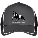SPOTTED SADDLE HORSE C904 Colorblock Mesh Back Cap