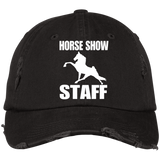 Horse Show Staff DT600 Distressed Dad Cap