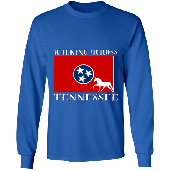 Walking Across Tennessee (Pleasure) G240 LS Ultra Cotton T-Shirt