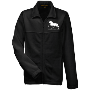Tennessee Walking Horse (Pleasure) with letters M990Y Harriton Youth Fleece Full Zip