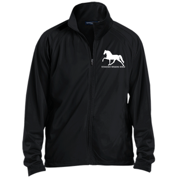 Tennessee Walking Horse (Pleasure) with letters YST90 Sport-Tek Youth Warm Up Jacket