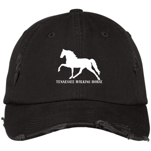 Tennessee Walking Horse (Pleasure) with letters DT600 District Distressed Dad Cap