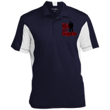 He's Just A Gigolo (Rushing) ST655 Men's Colorblock Performance Polo