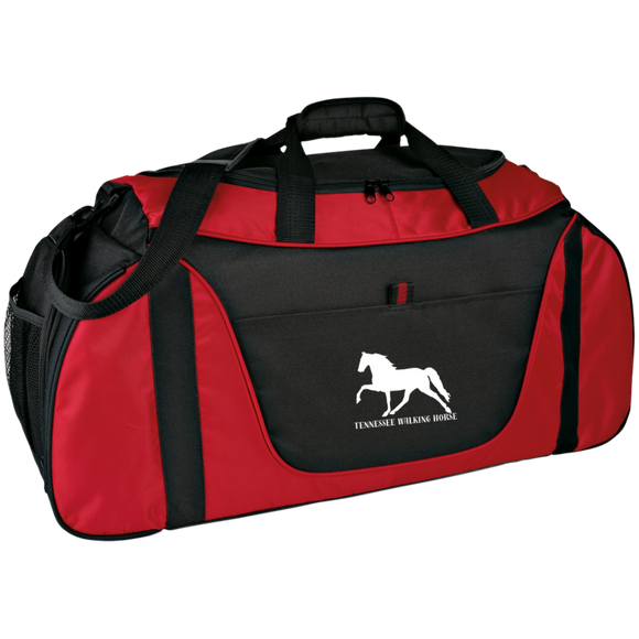 Tennessee Walking Horse (Pleasure) with letters BG1050 Medium Color Block Gear Bag