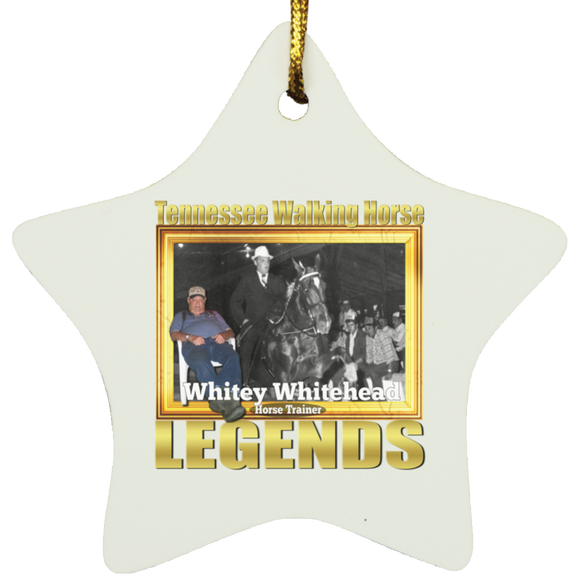 WHITEY WHITEHEAD (Legends Series) SUBORNS Star Ornament