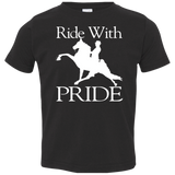 RIDE WITH PRIDE 3321 Toddler Jersey T-Shirt