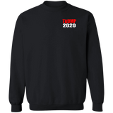 TRUMP 2020 (You wont like me!) G180 Gildan Crewneck Pullover Sweatshirt  8 oz.