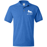 American Saddlebred Design 2 G880 Gildan Jersey Polo Shirt