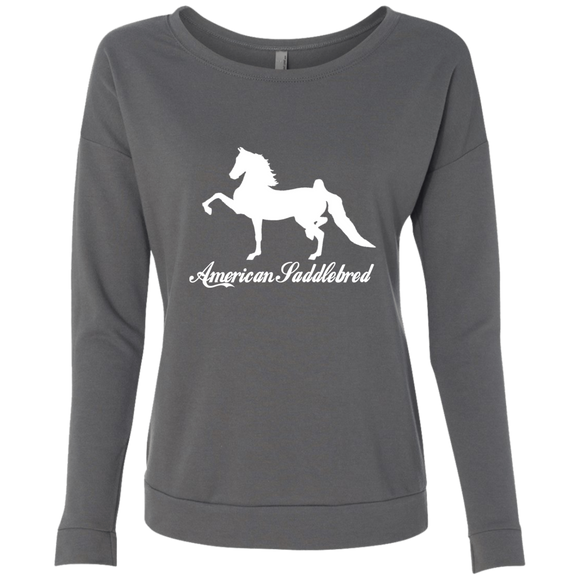 American Saddlebred Design 2 NL6931 Next Level Ladies' French Terry Scoop