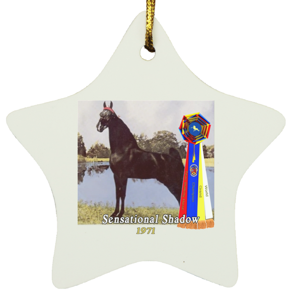 WGC SENSATIONAL SHADOW SUBORNS Star Ornament
