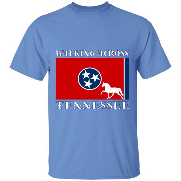 Walking Across Tennessee (Pleasure) G500 5.3 oz. T-Shirt