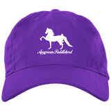 American Saddlebred Design 2 BX001 Brushed Twill Unstructured Dad Cap