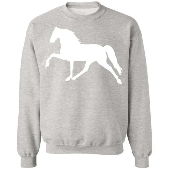 Tennessee Walking Horse (Pleasure) G180 Gildan Crewneck Pullover Sweatshirt  8 oz.