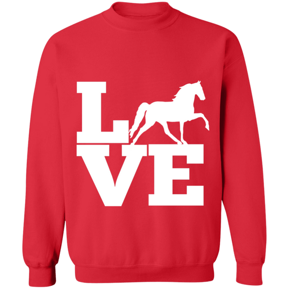 Love (TWH Pleasure) G180 Gildan Crewneck Pullover Sweatshirt  8 oz.