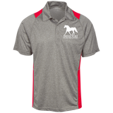 Missouri Fox Trotter ST665 Heather Moisture Wicking Polo