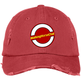WHC LOGO 2020 (2) DT600 Distressed Dad Cap