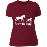 Born To Walk NL3900 Next Level Ladies' Boyfriend T-Shirt