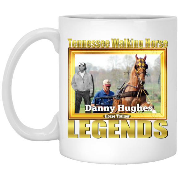 DANNY HUGHES (Legends Series) XP8434 11 oz. White Mug