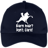 BARN HAIR, DONT CARE (TWH PERFORMANCE) CP86 Five Panel Twill Cap