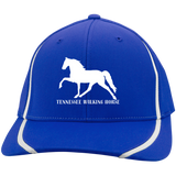 Tennessee Walking Horse (Pleasure) with letters STC16 Flexfit Colorblock Cap