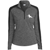 Tennessee Walking Horse (Performance) LST397 Sport-Tek Ladies' Electric Heather Colorblock 1/4-Zip Pullover