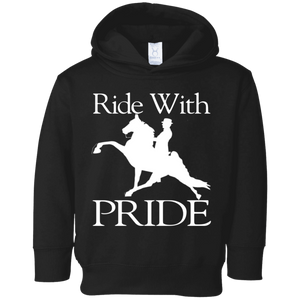 RIDE WITH PRIDE 3326 Toddler Fleece Hoodie