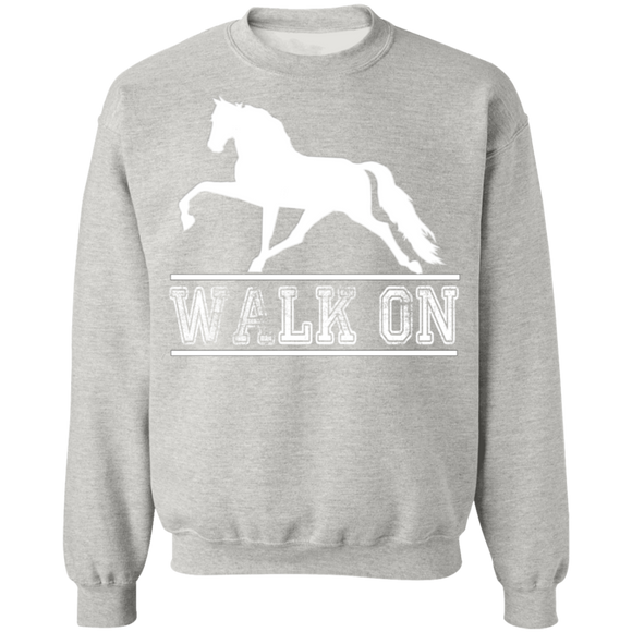 Walk On TWH Pleasure G180 Gildan Crewneck Pullover Sweatshirt  8 oz.