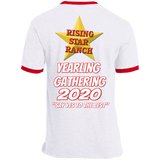 RSR YEARLING GATHERING FRONT PC54R Ringer Tee