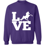 Love (TWH Performance) G180 Gildan Crewneck Pullover Sweatshirt  8 oz.
