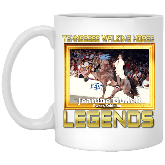 JEANINE GULLETT(Legends Series) XP8434 11 oz. White Mug