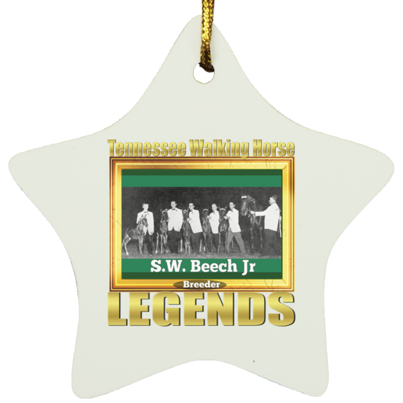 SW BEECH JR (Legends Series) SUBORNS Star Ornament