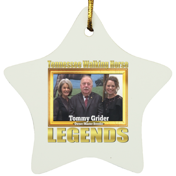 TOMMY GRIDER(Legends Series) SUBORNS Star Ornament