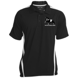 SPOTTED SADDLE HORSE ST685 Men's Colorblock 3-Button Polo