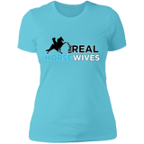 THE REAL HORSE WIVES NL3900 Ladies' Boyfriend T-Shirt
