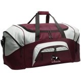 SPOTTED SADDLE HORSE BG99 Colorblock Sport Duffel
