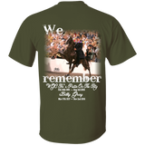 We Remember Ritz and Billy (front) G500 Gildan 5.3 oz. T-Shirt