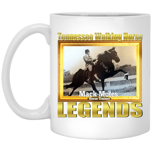 MACK MOTES (Legends Series) XP8434 11 oz. White Mug