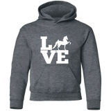 Love (Saddlebred) - Copy G185B Gildan Youth Pullover Hoodie