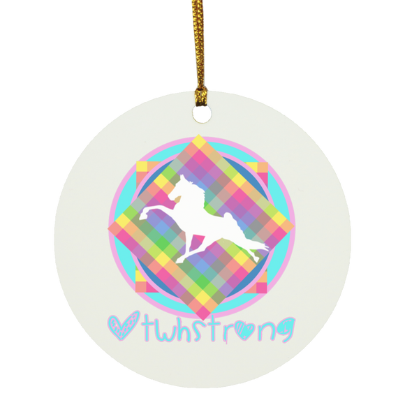 #TWHstrong 3 SUBORNC Circle Ornament